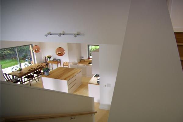From the Modest Home on Grand Designs. Great use of space ...