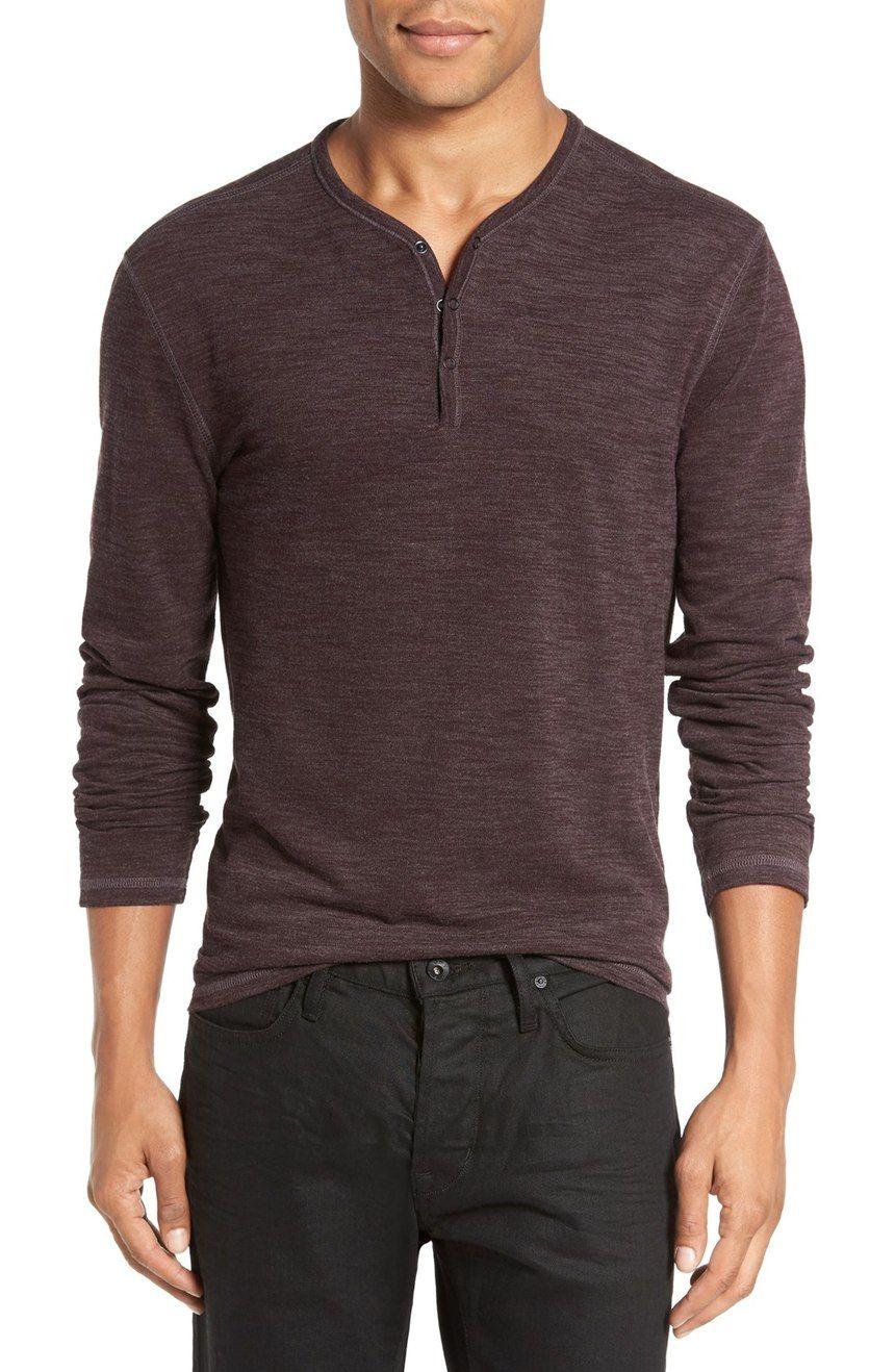 37607d26fb best-henley-shirt-for-men-2016-john-varvatos-snap-button-2017 ...