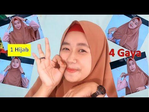 Photo of TUTORIAL HIJAB DAILY, SIMPEL – 1 hijab 4 gaya 1 jarum    KONKRET konten kreatif community