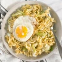 Photo of Fried Cabbage and Noodles Recipe – Budget Bytes