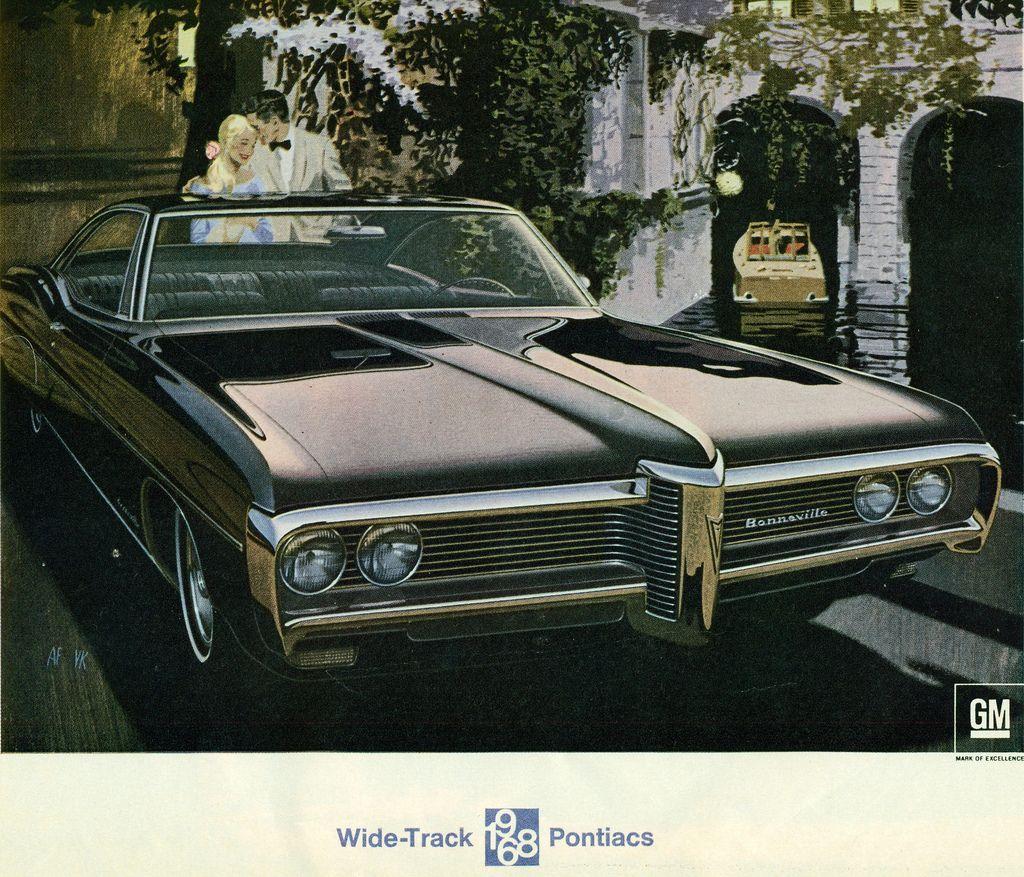 1968 Pontiac Bonneville 2 Door Hardtop