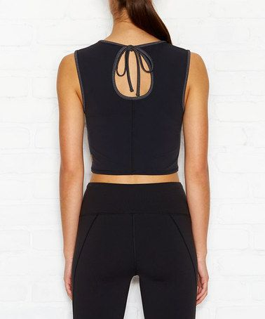 This Heather Black High Expectations Tank is perfect! #zulilyfinds