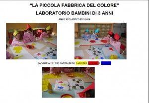 Progetto Colori Scuola Dellinfanzia Via Caselli Colori Colori
