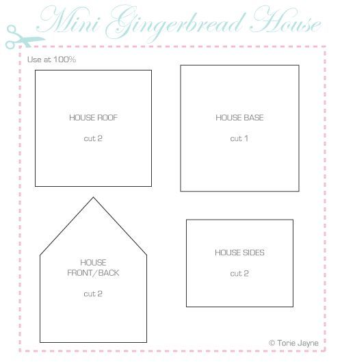 Image Result For Gingerbread House Templates Cake Decorating Ideas