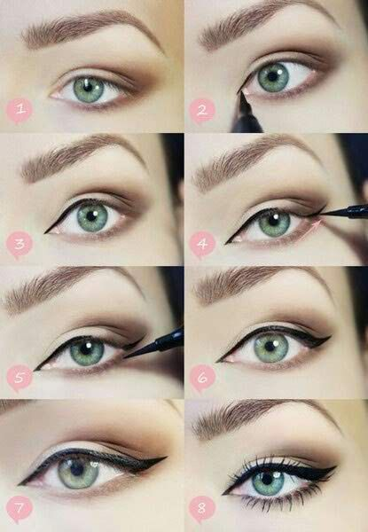 How To Do Your Eyebrows With Eyeliner?   Make-up and Beauty ...
