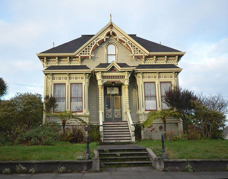 One Story Victorian Victorian Homes Victorian House Colors Old Victorian Homes