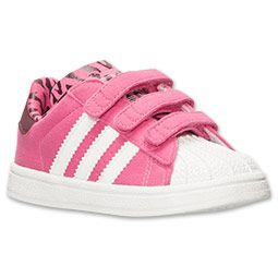 Girls\u0027 Toddler adidas Superstar Casual Shoes | Finish Line | Pink/Core  White/