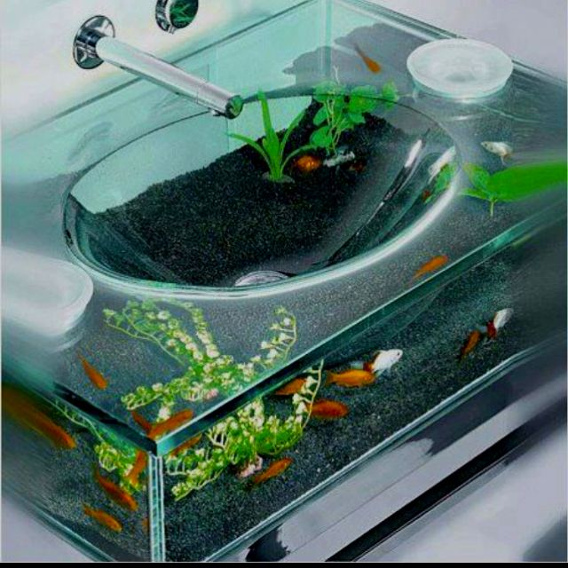 Aaaaahhh this be the coolest sink ever I now want on lol (it\'s a ...