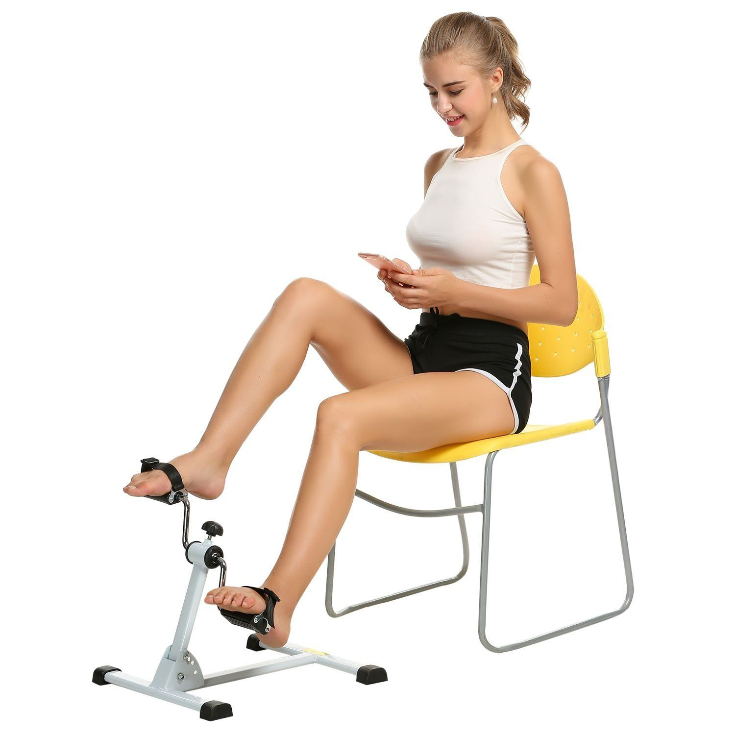 Ancheer Mini Exercise Bike Arm And Leg Pedal Exerciser Special