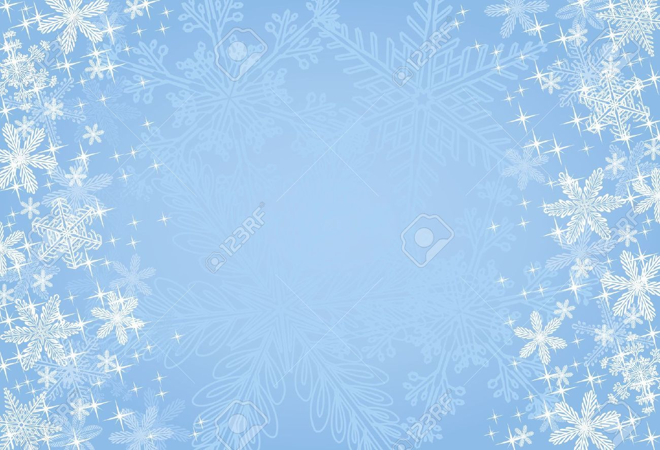 Stock Vector Snowflake background, Christmas background
