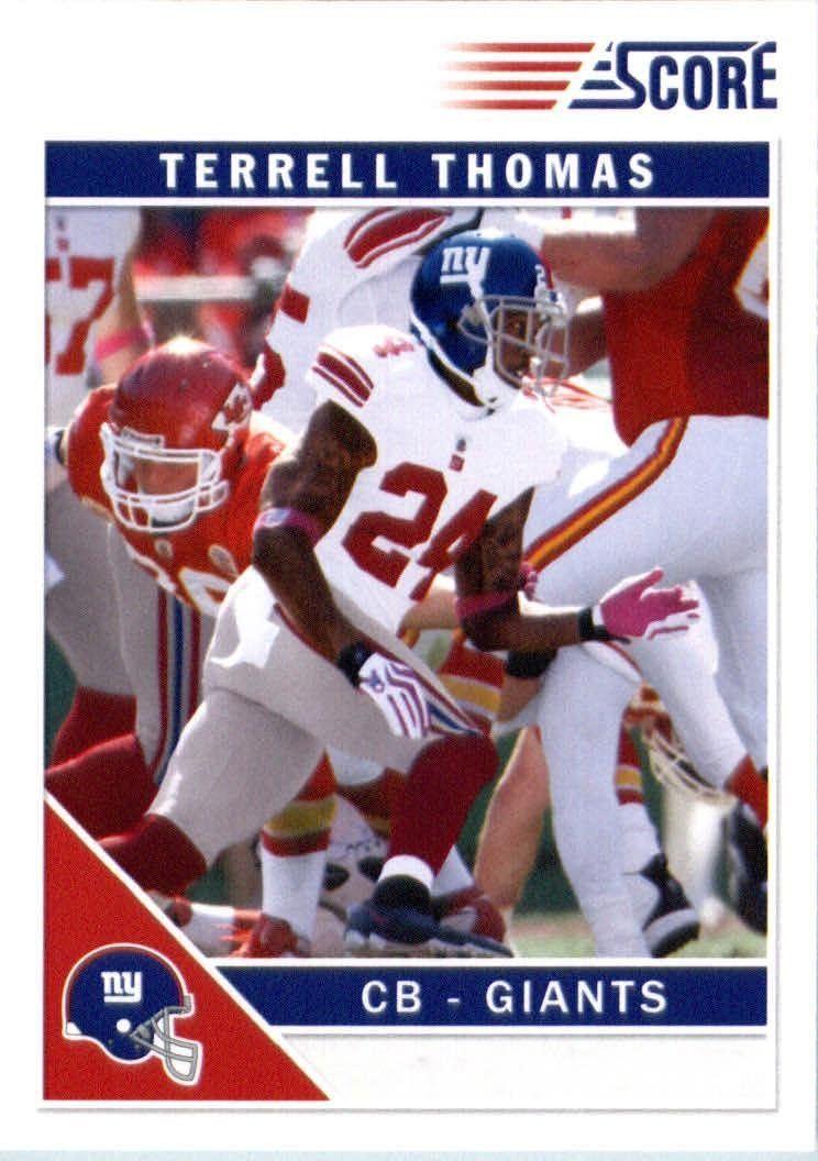 2011 Score 197 Terrell Thomas New York Giants (Football