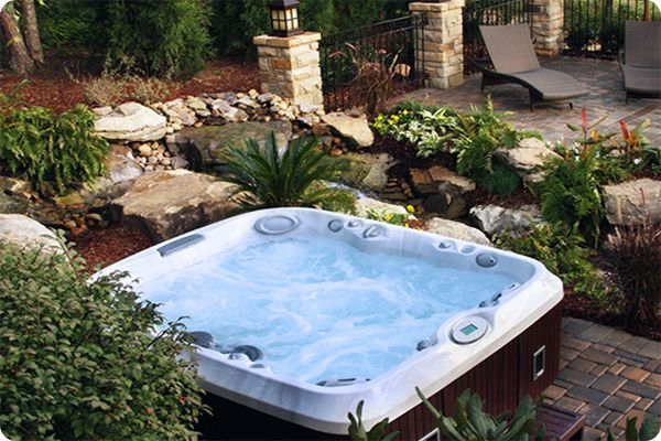 Hot Tub Landscaping Ideas Blog Spa And