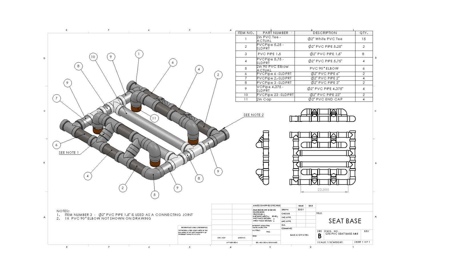 Construccion Cockpit Pvc Casero Realizado