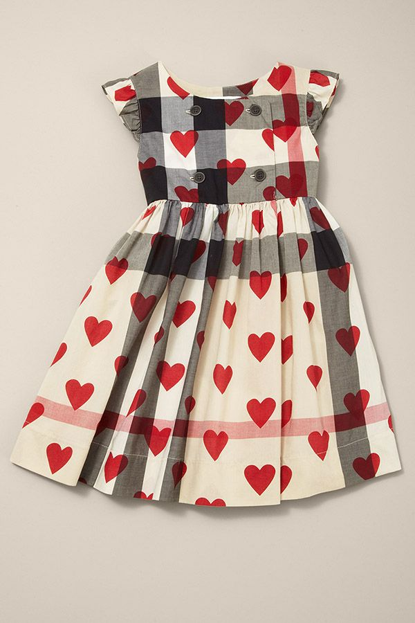 876e067f243d Dress her up this holiday with #Burberry #SaksStyle Cool Kids Clothes, Cute  Baby