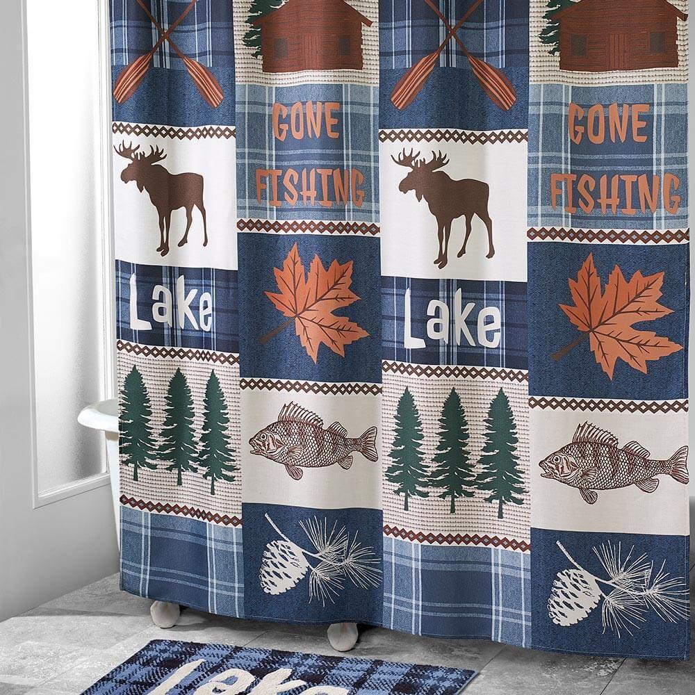 moose lake lodge bathroom accessories
