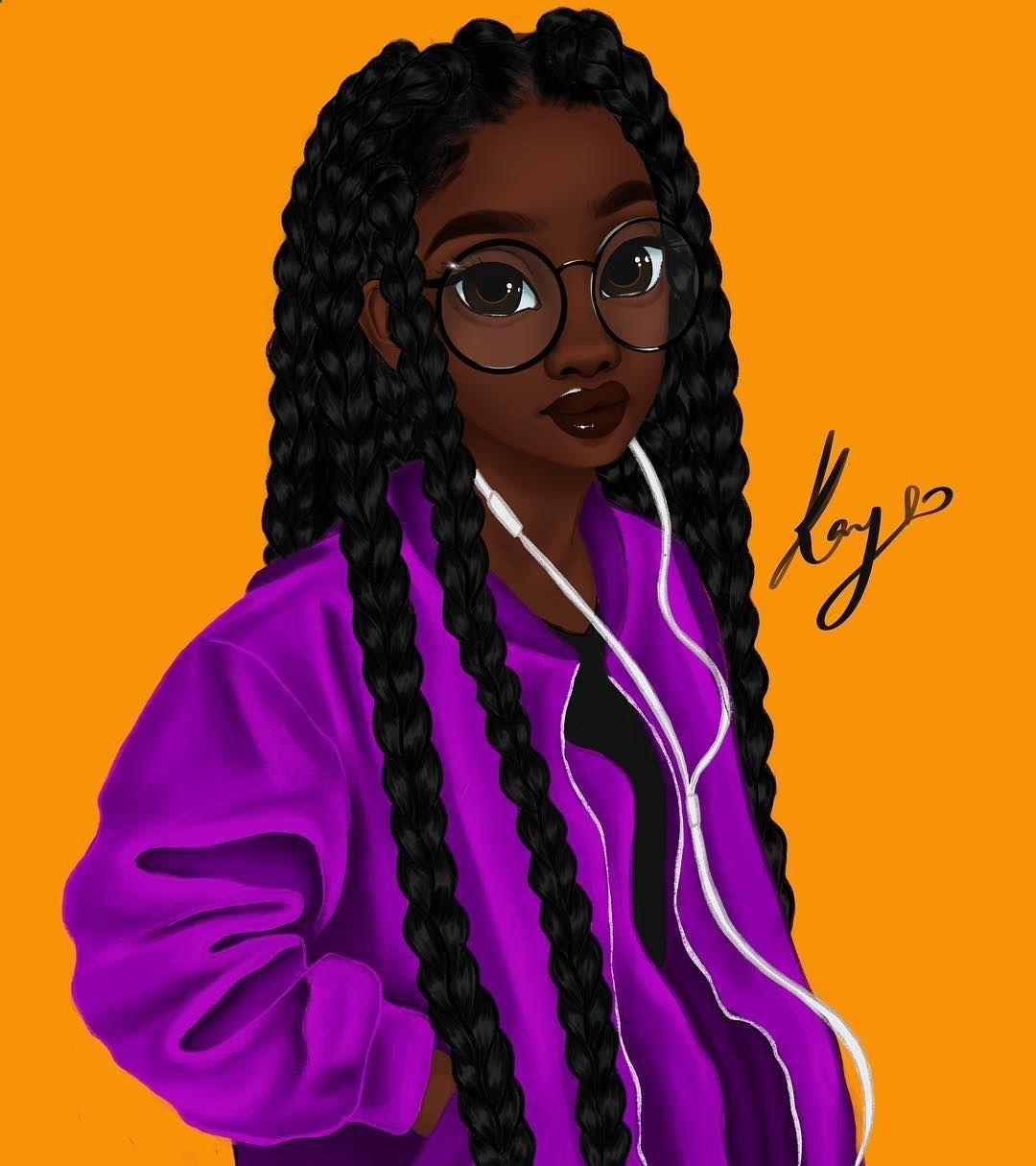 Pin By Charissa Walker On More Ideas Art Black Girl Art Drawings Of Black Girls Black Girl Magic Art