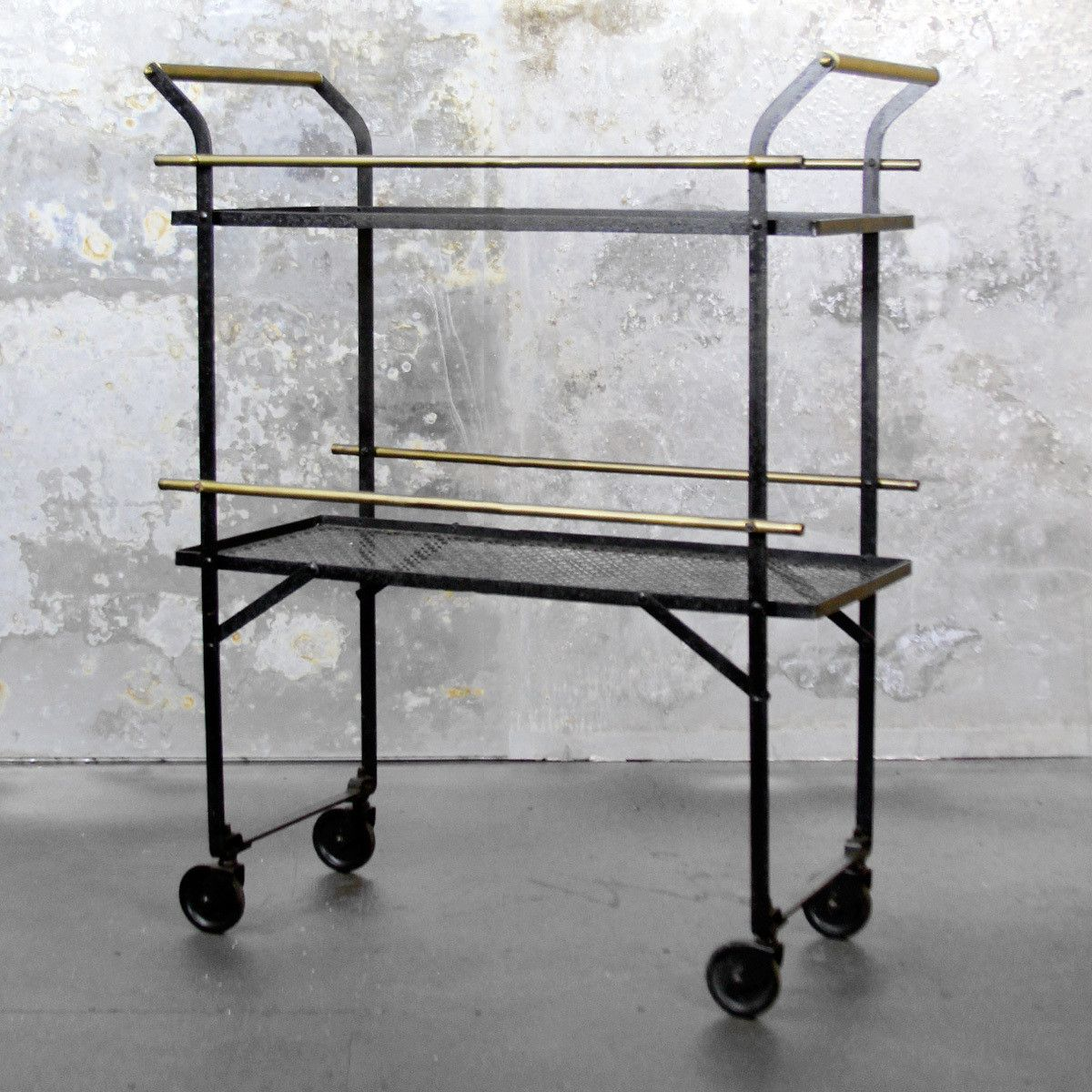 Mid-Century Bar Cart by Lackluster Co. - for the man cave