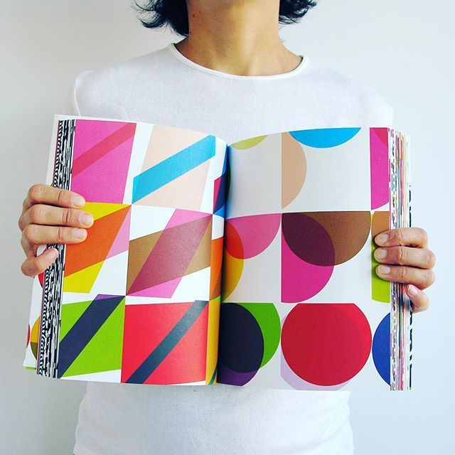 Geometric Book #kapitza #geometric #colorful #patternart