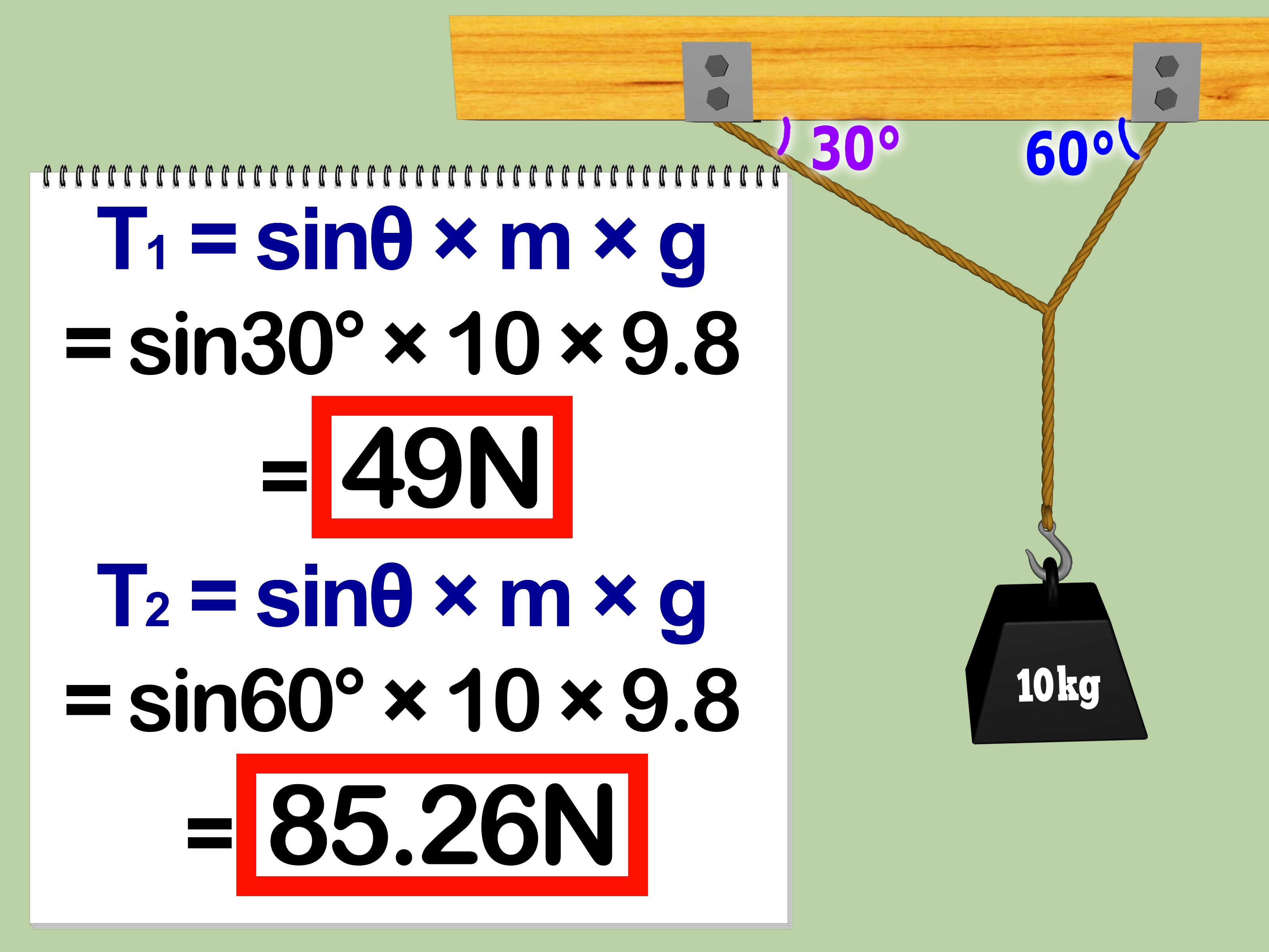 Calculate Tension In Physics Homework Pinterest School And General College Free Body Force Diagrams Is The Exerted By A Rope String Cable Or Similar Object On One More Objects Anything Pulled Hung Supported Swung From