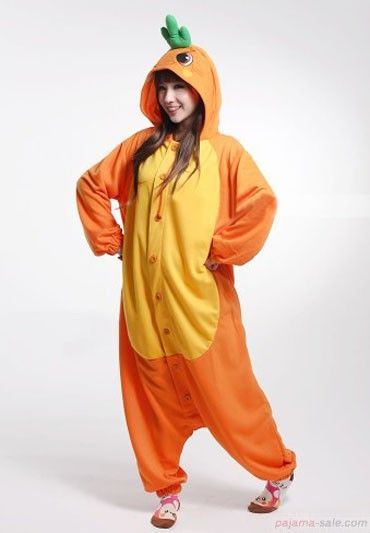 9c9bf0d7a7cd Orange carrots adult onesies
