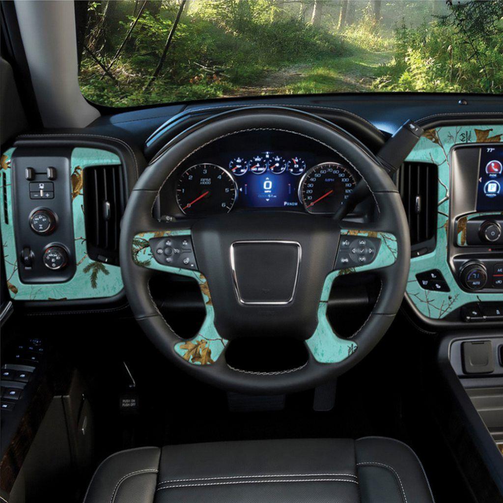 Realtree Auto Interior Vinyl Skin – Mint | Jeepin' | Camo