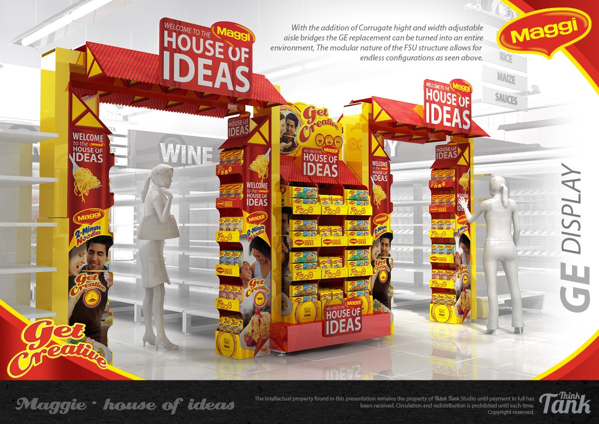 Maggie House of Ideas on Behance