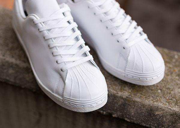 adidas superstar 80s clean blanche