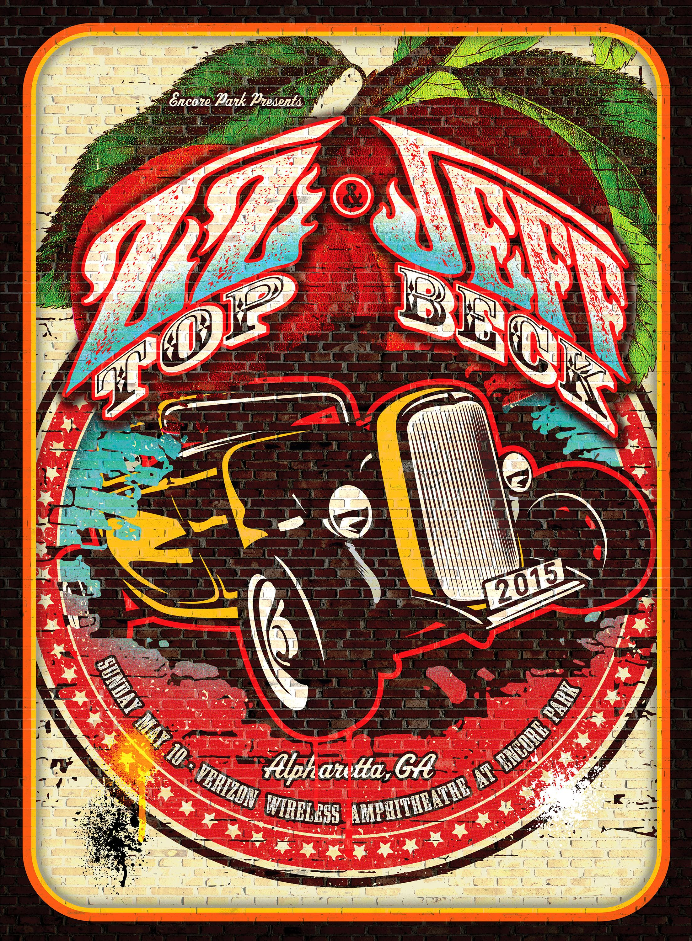 ZZ Top & Jeff Beck in 2019   Rock band posters, Rock ...