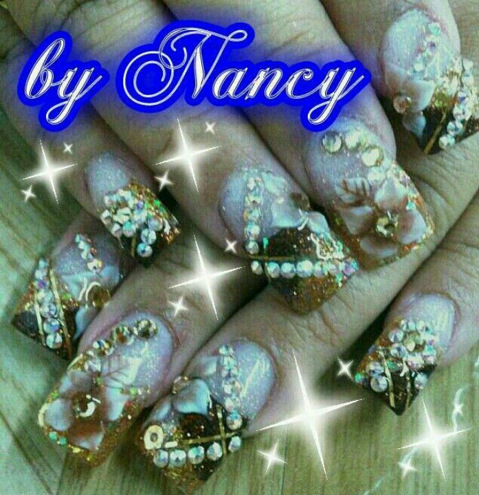 I want mine like this!! | Nail art | Pinterest | Uñas sinaloenses ...