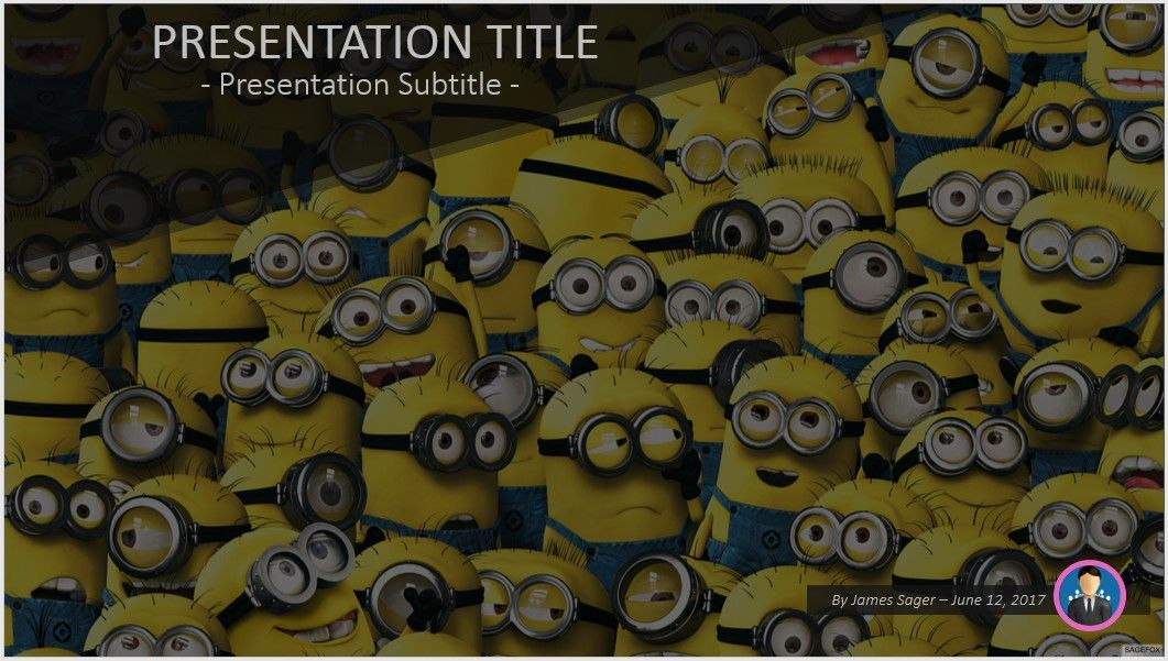 Minions powerpoint free powerpoint templates by sagefox minions powerpoint toneelgroepblik Image collections