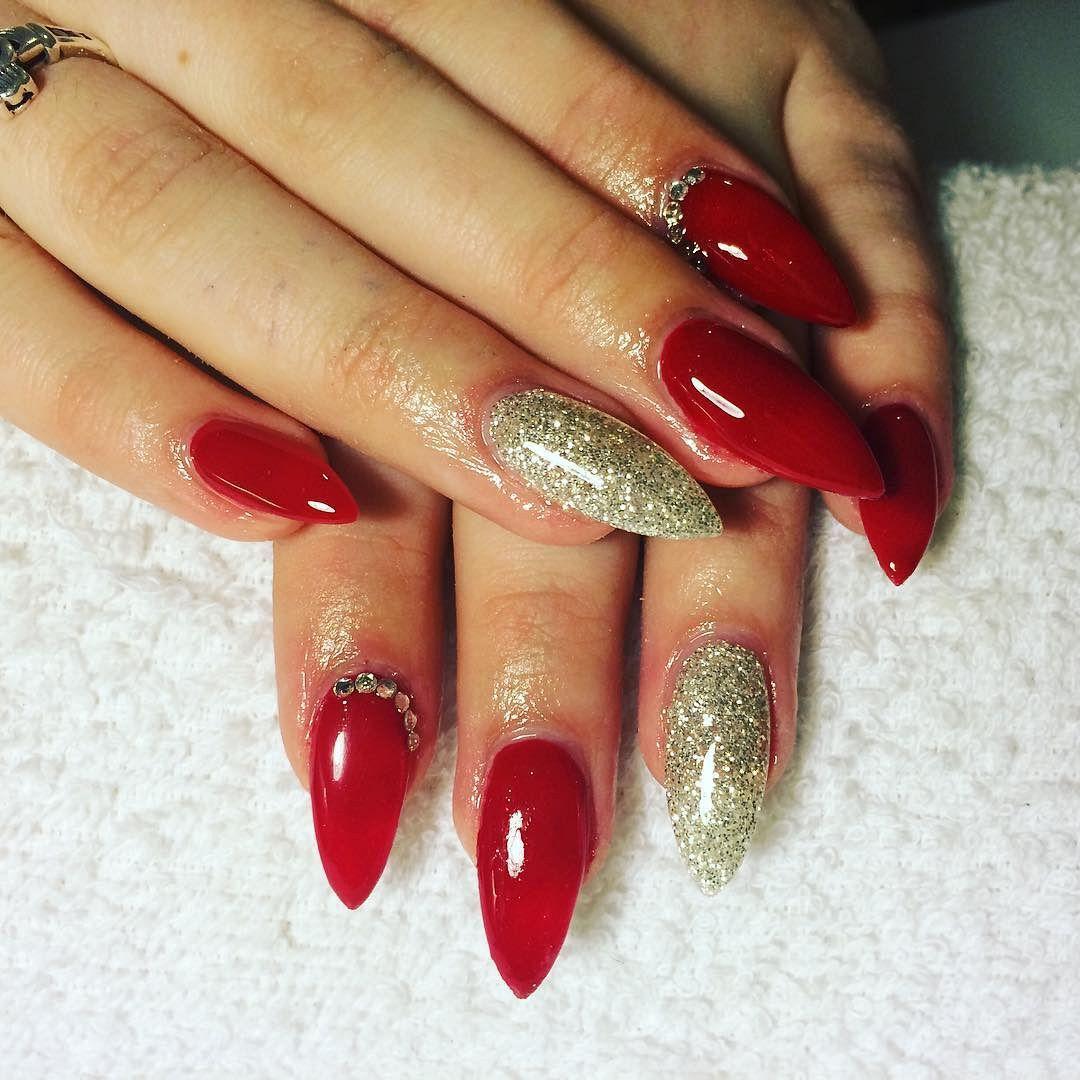 60+ New Metallic Nail Art Design Trends | Metallic nails, Nail ...