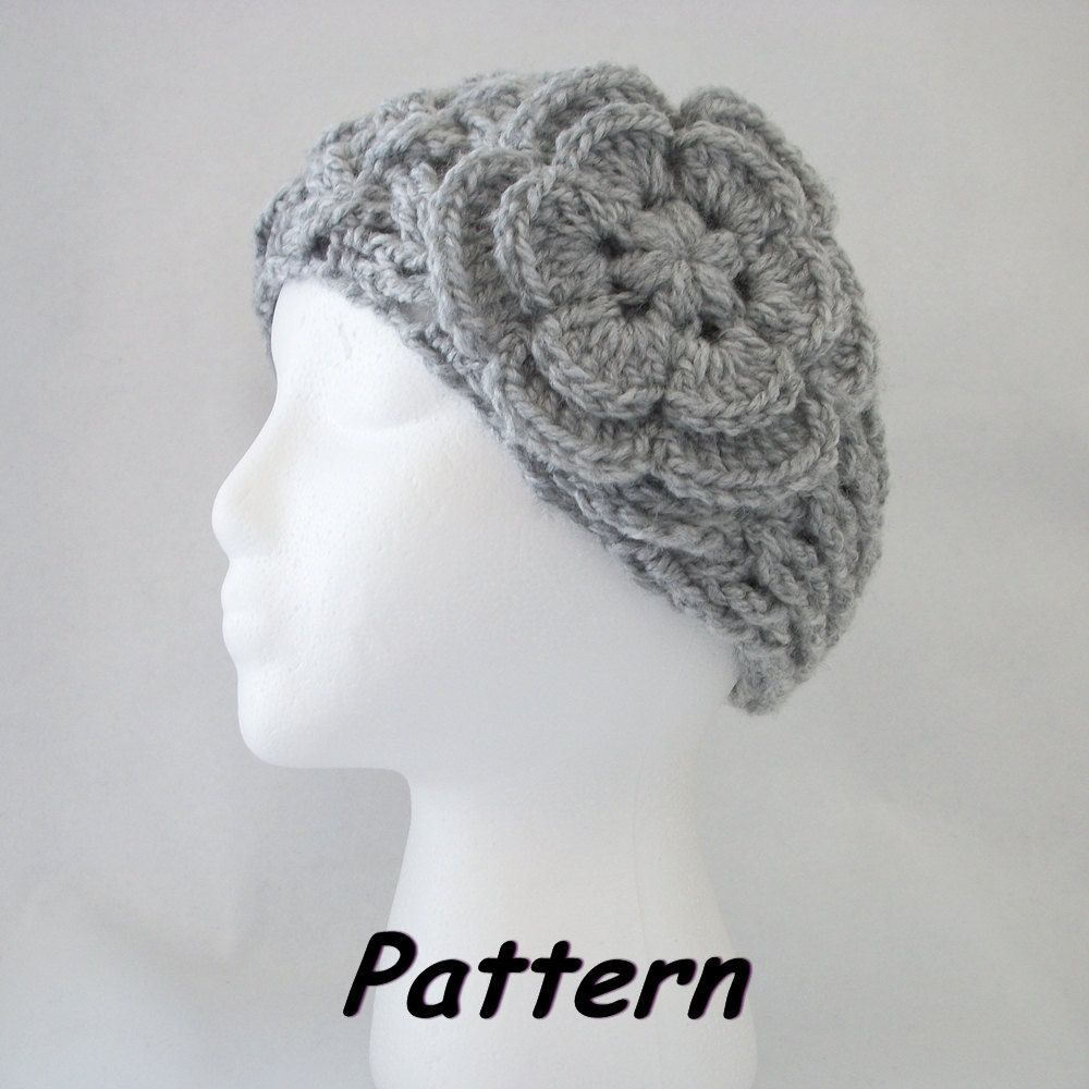 Pdf crochet pattern new lattice headbandear warmer w puff center pdf crochet pattern new lattice headbandear warmer w puff center flower 498 bankloansurffo Choice Image