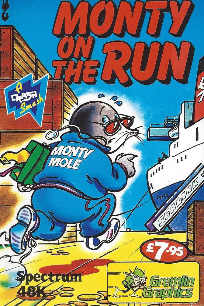 Monty on the Run (With images) Retro video games, Retro