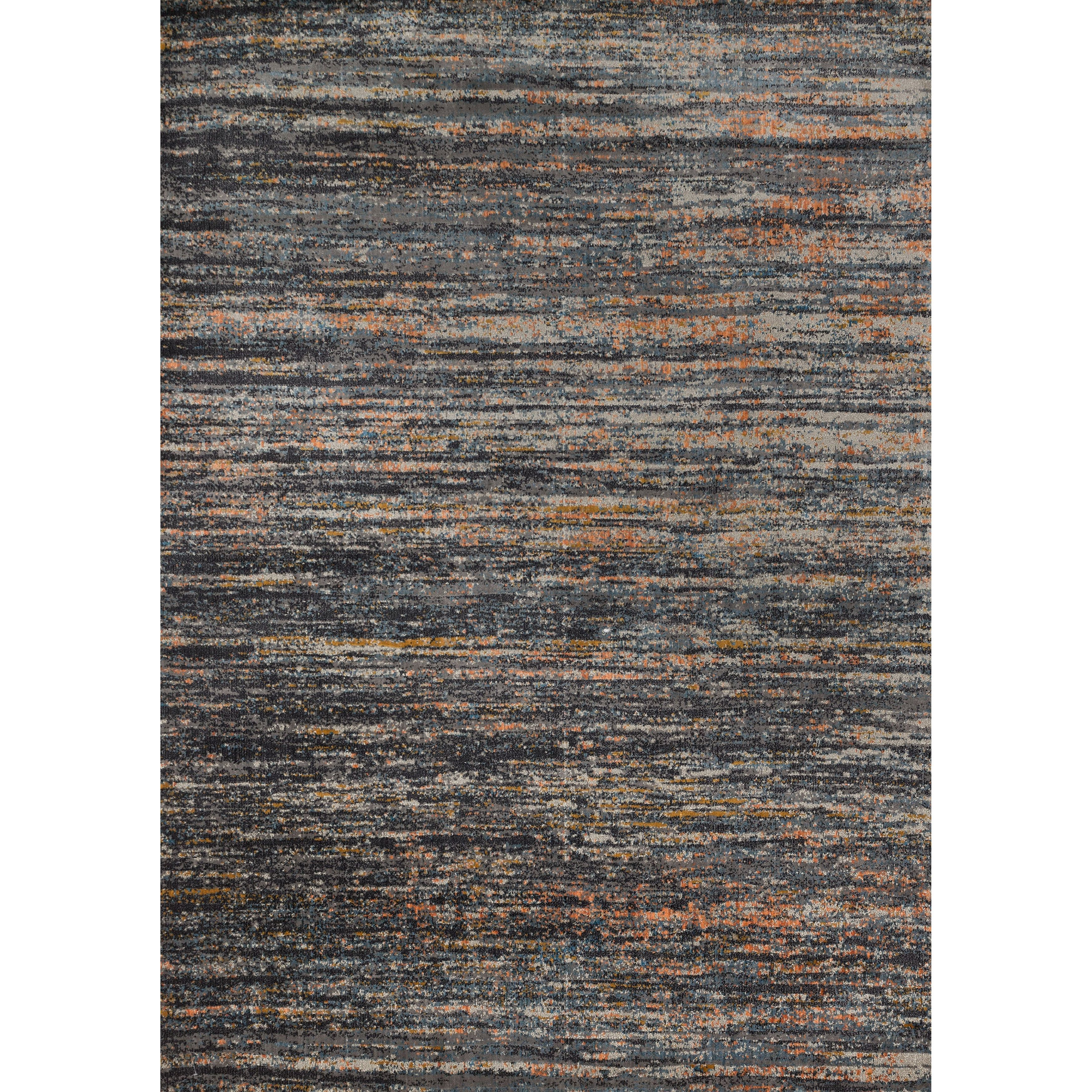 Phaedra Abstract Slate Orange Rug 5 X 7 6 Slate Orange 5