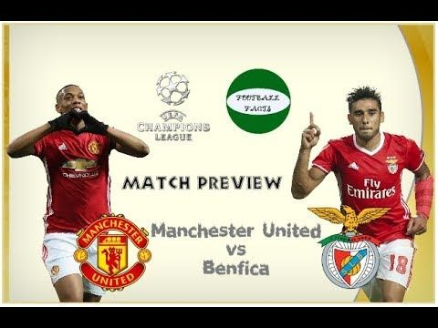 Manchester United Vs Benfica Match Preview Manchester United Manchester The Unit
