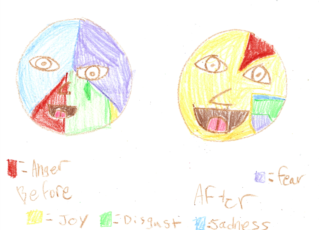Emotion pie chart faces inspired by inside out for kids emotion pie chart faces inspired by inside out nvjuhfo Image collections