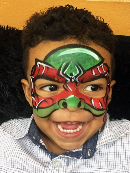 Face Paint | Orlando Face Painters | Colorful Day Events - Ninja ...