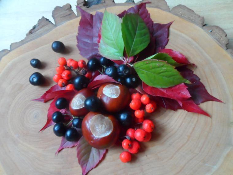 Ягодно-каштановая осень - Ярмарка Мастеров - ручная работа, handmade