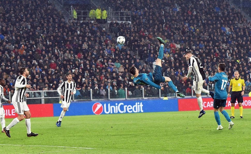 Cristiano Ronaldo chilena | Leyendas blancas | Cristiano ...