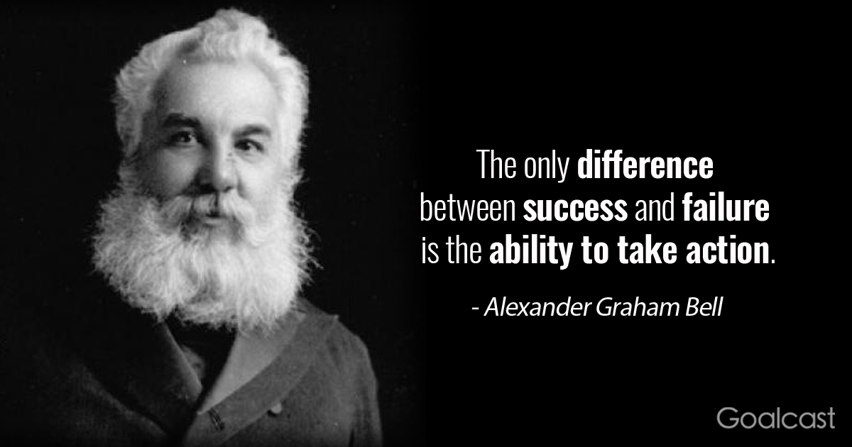 18 Alexander Graham Bell Quotes On The Role Of Perseverance In Achieving Success Alexander Graham Bell Alexander Graham Bell Quotes Graham Bell