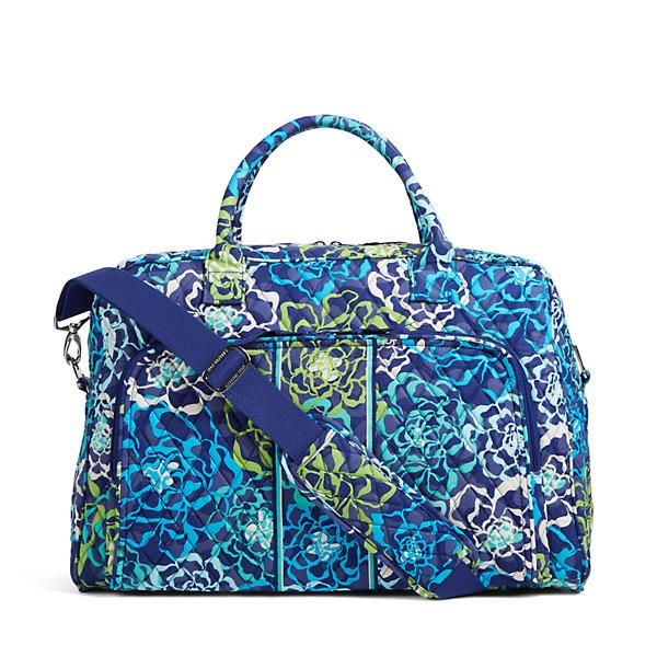 Vera Bradley Weekender Travel Bag in Katalina Blues at The Paper Store e8e03b919f44a