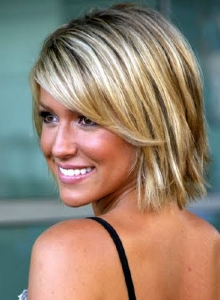 Short Haircuts For Thick Hair And Round Faces Shoulder Length