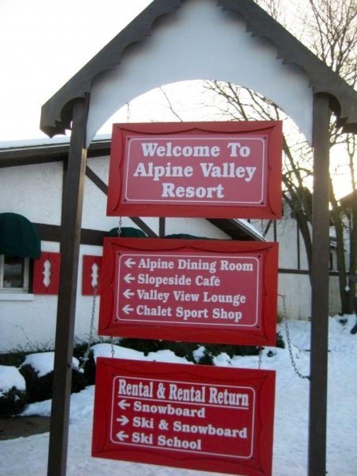 Alpine valley resort in elkhorn wi resort ski schools
