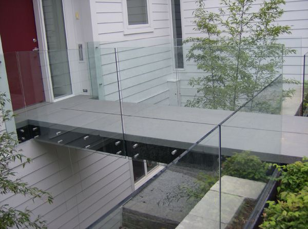 Hercules Fence Maryland Glass Railings Virginia Glass