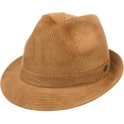 Lipodo Molinar Cord Hat Corduroy Trilby Sombrero de hombre Schürlsamt Sombrero de tela Sombrero de algodón Lipodo