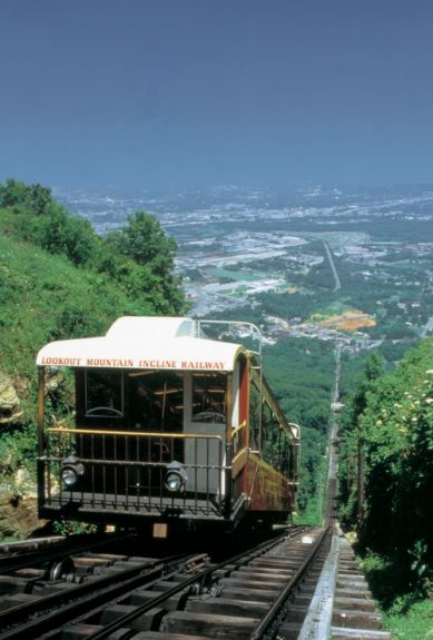 Incline Railway Chattanooga Tn Places To Travel Lookout
