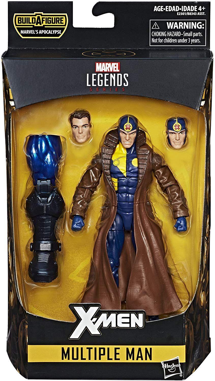 Marvel X Men 6 Inch Legends Series Multiple Man Apocalypse Baf In 2020 Marvel Legends Marvel Marvel Legends Action Figures