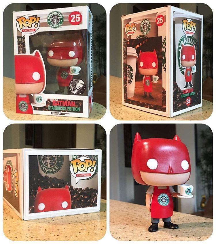 e6652b75ca6d8 funkoboss) on Instagram. Batman Christmas Starbucks