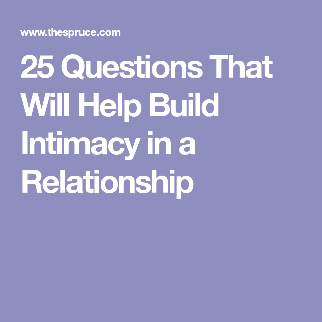 questions to help build a relationship