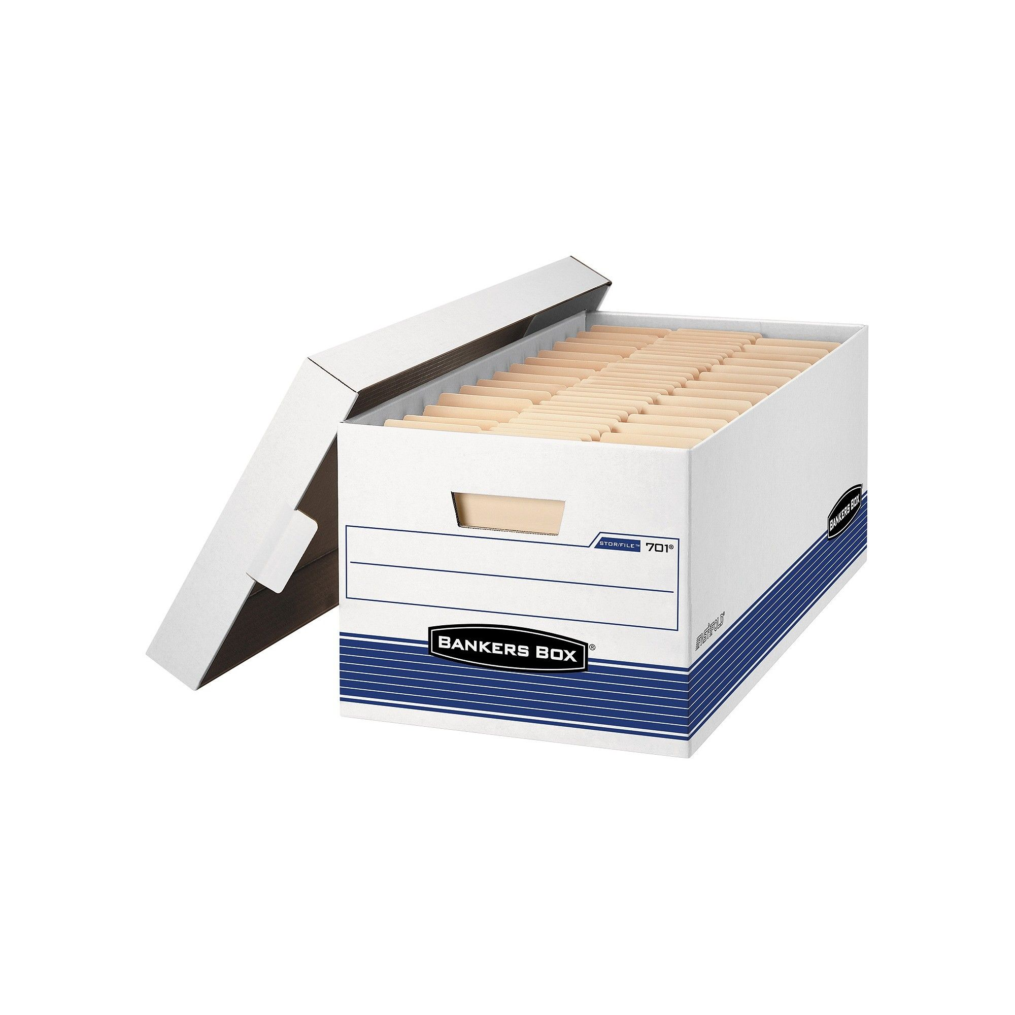 Bankers Box Stor/File Medium-Duty Storage Boxes With Lift